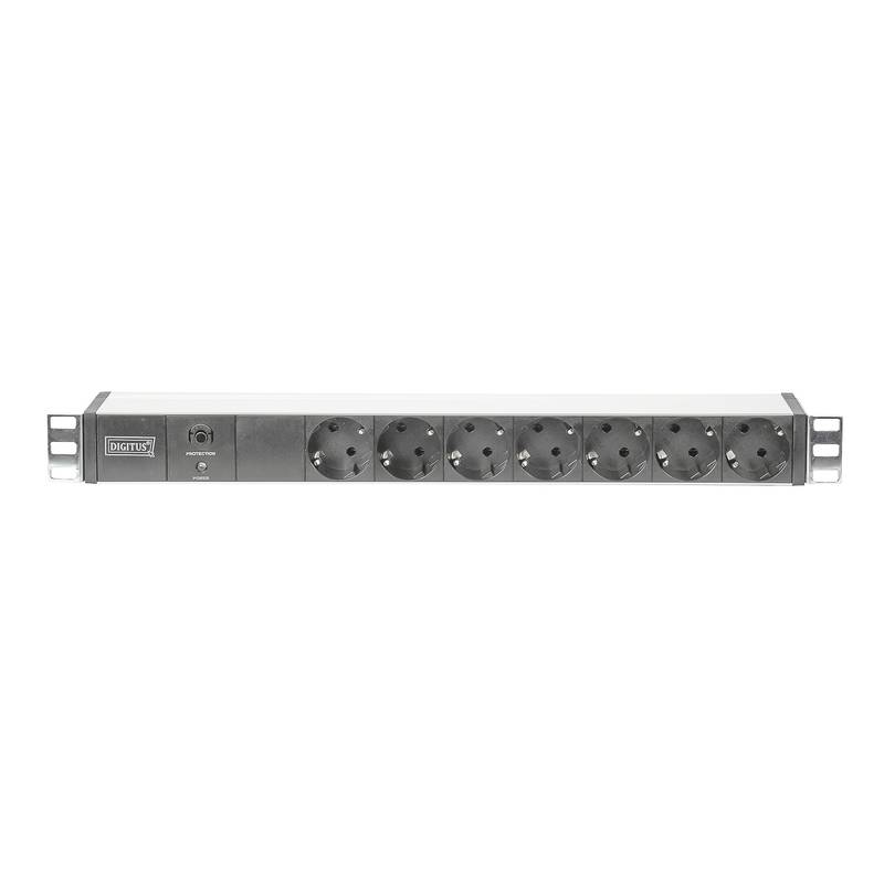 Digitus Professional DN-95401 Aluminum PDU, 8 safety outlets, 2m