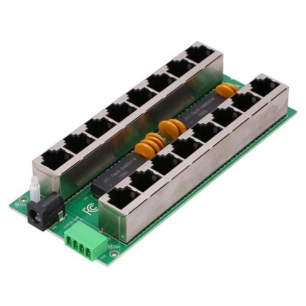PoE injector 8 port Gigabit mode B