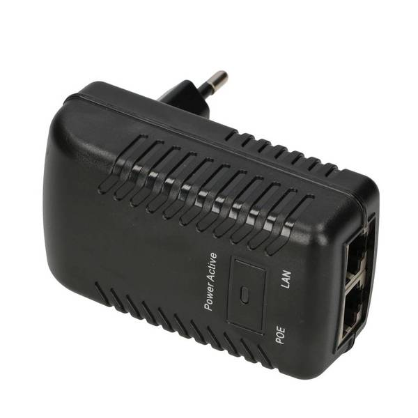 PoE adapter 12V 12W 1A Wall plug
