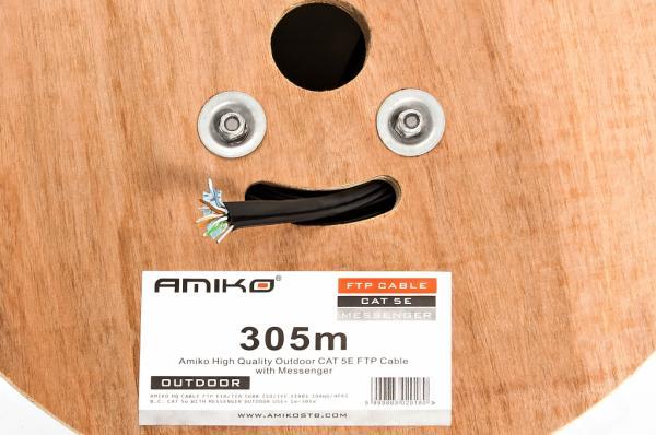 FTP AMIKO CAT5e Bare Copper + Messenger