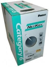 NetKey Copper Cable Panduit Panduit NetKey Copper Cable Cat6 4 PR 24 AWG U/Utp LSZN-1