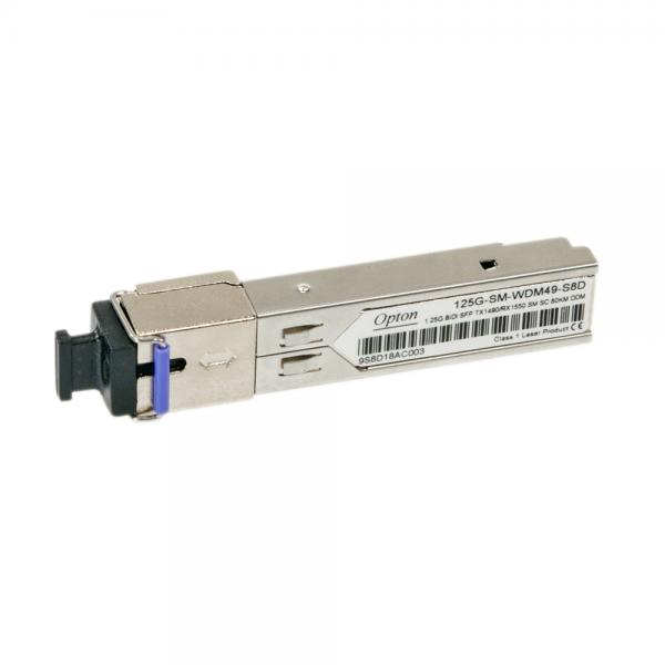 SFP-1G 1G-BiDi-TX1490/RX1550-80km-SC