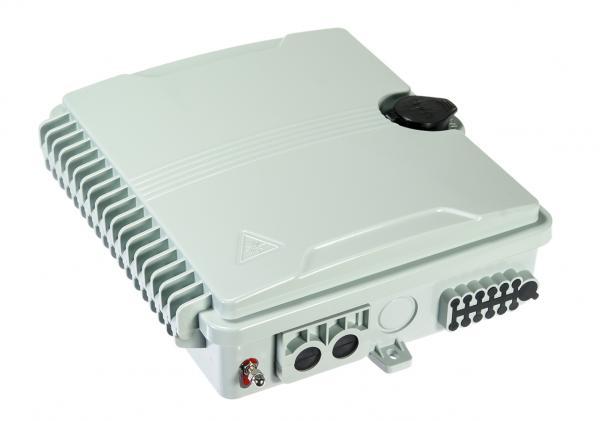 FTTX Fiber Distribution Box FDB with Integrated Cassette Splitter 1x8