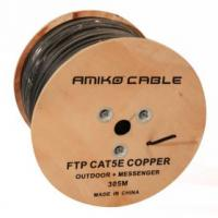 FTP - AMIKO CAT5e Bare Copper + Messenger Network Cable FTP BC+ Messenger