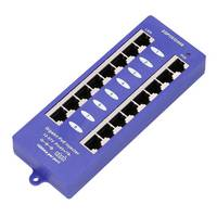 PoE injector 8 port Gigabit mode B