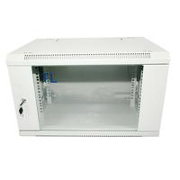 Rack cabinet Qbox 6U/19'' 600mm x 450mm - light gray